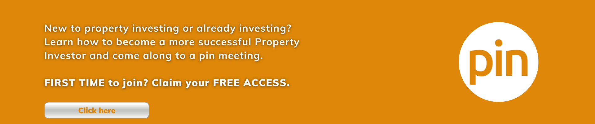 Property Investing or already investing Learn how to become a more successful Property Investor and come along to a pin meeting. FIRST TIME to join Claim your FREE ACCESS. (5)